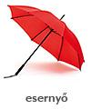 Esernyő, reklámesernyők nagy választékban!